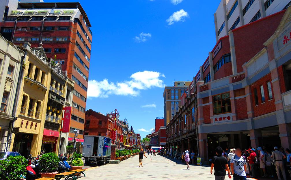 迪化街の街並み