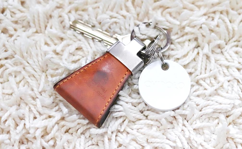 鍵の紛失防止対策にタグを付けてみたら失くしてもすぐ見つかったからスゴイ【おすすめ】