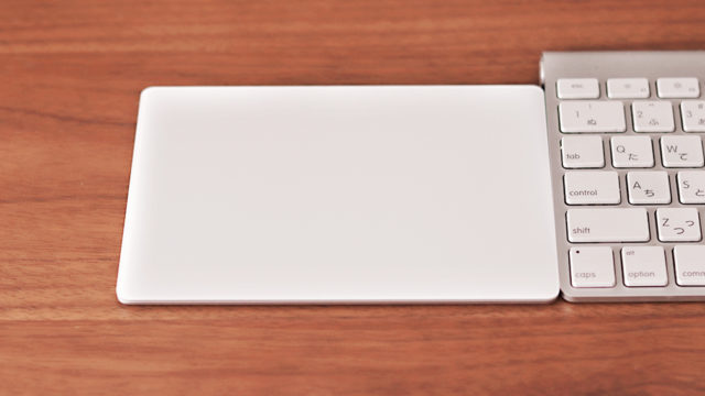 iMacのマウス代わりにトラックパッドを買ったら楽しすぎ!但し腱鞘炎気味の人は要注意