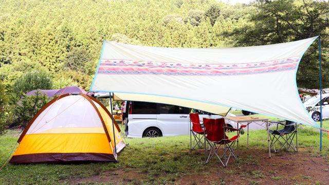 湯島オートキャンプ場で夏キャンプ!大人でも楽しめる川遊びが最高すぎた【キャンプ3回目】