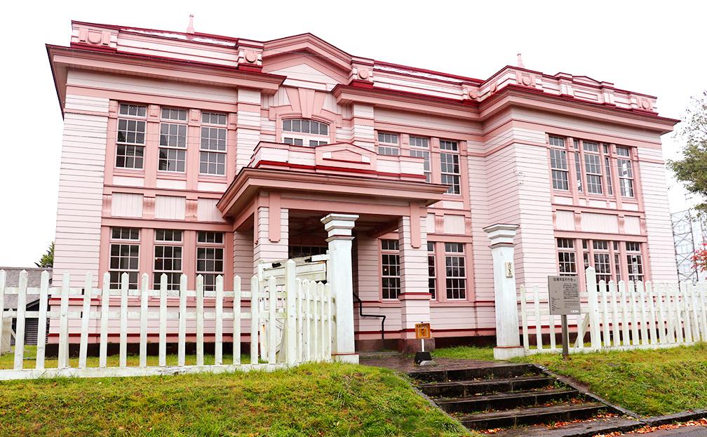 旧浦河支庁庁舎 家永のホテル