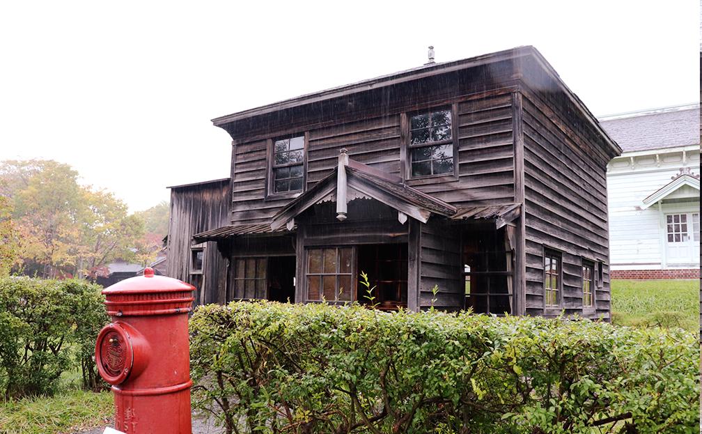 旧島歌郵便局